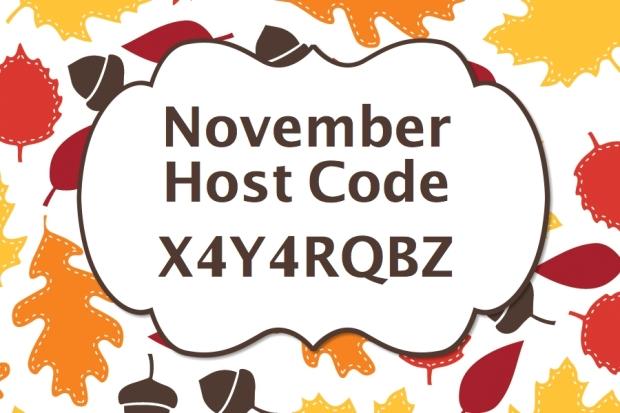 host code November-001